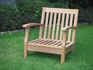 teak chair deep seating outdoor living patio furniture