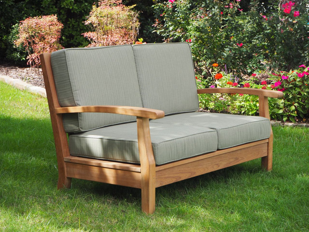 teak chair sofa deep seating outdoor living patio furniture