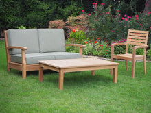 Load image into Gallery viewer, teak table outdoor living patio furniture
