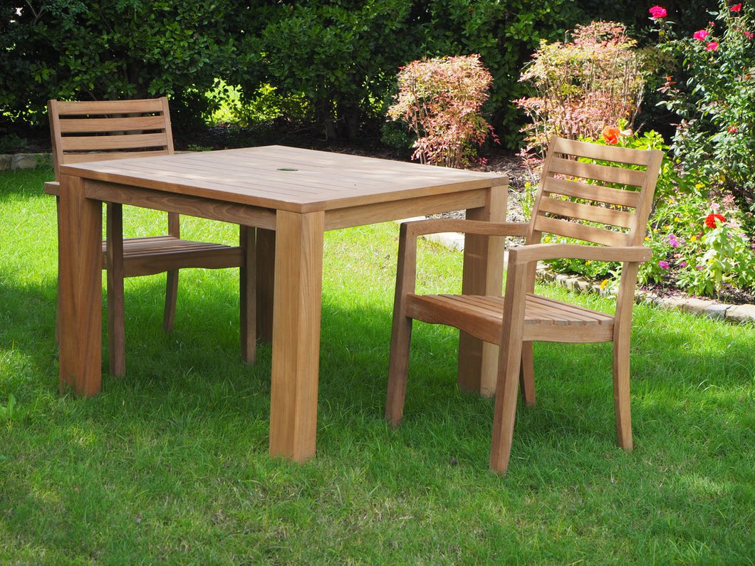 Patio table set