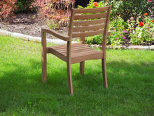 Load image into Gallery viewer, teak chair outdoor living patio furniture