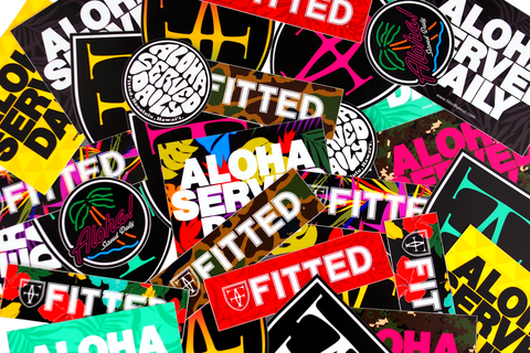 ASSORTED STICKER PACK - MULTI