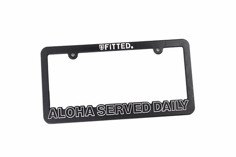 ASD LICENSE PLATE COVER - BLACK