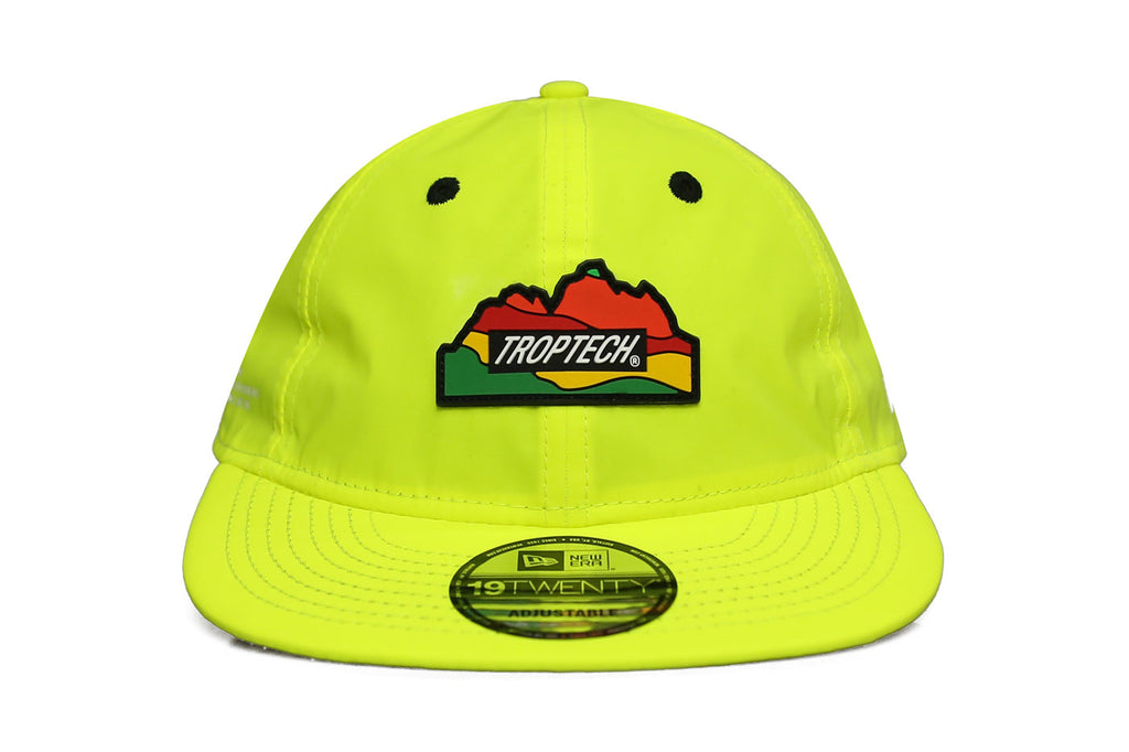 TROPTECH PURSUIT STRAPBACK - REFLECTIVE SAFETY GREEN - RUBBER PATCH