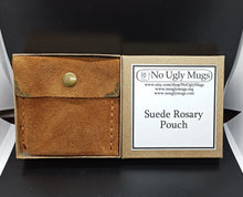 Load image into Gallery viewer, Suede Rosary Pouch