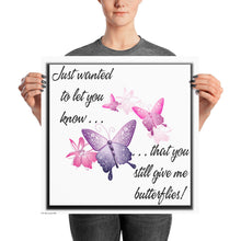 Load image into Gallery viewer, Butterflies (24x24 Poster)