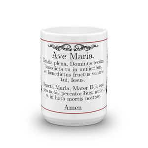 Ave Maria Latin Prayer