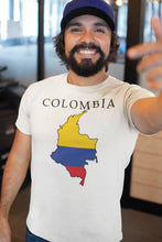 Load image into Gallery viewer, Colombia -- White, Short Sleeve tee