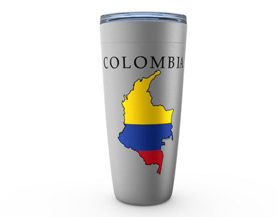 Colombia Silver Viking Tumbler