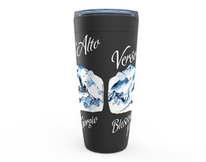 Blessed Pier Giorgio Black Viking Tumbler