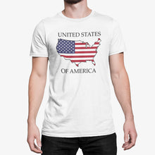 Load image into Gallery viewer, United States of America -- Short Sleeve T-shirt