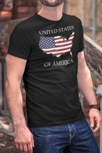 United States of America -- Short Sleeve T-shirt