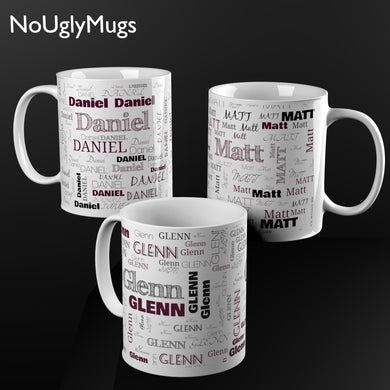 Personalized Name Cloud Mug