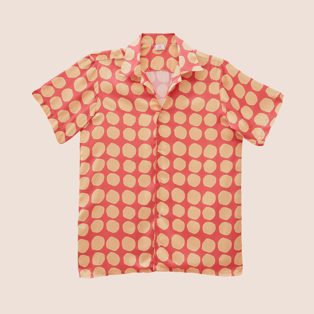 Lisbon Salmon Short Sleeve Shirt