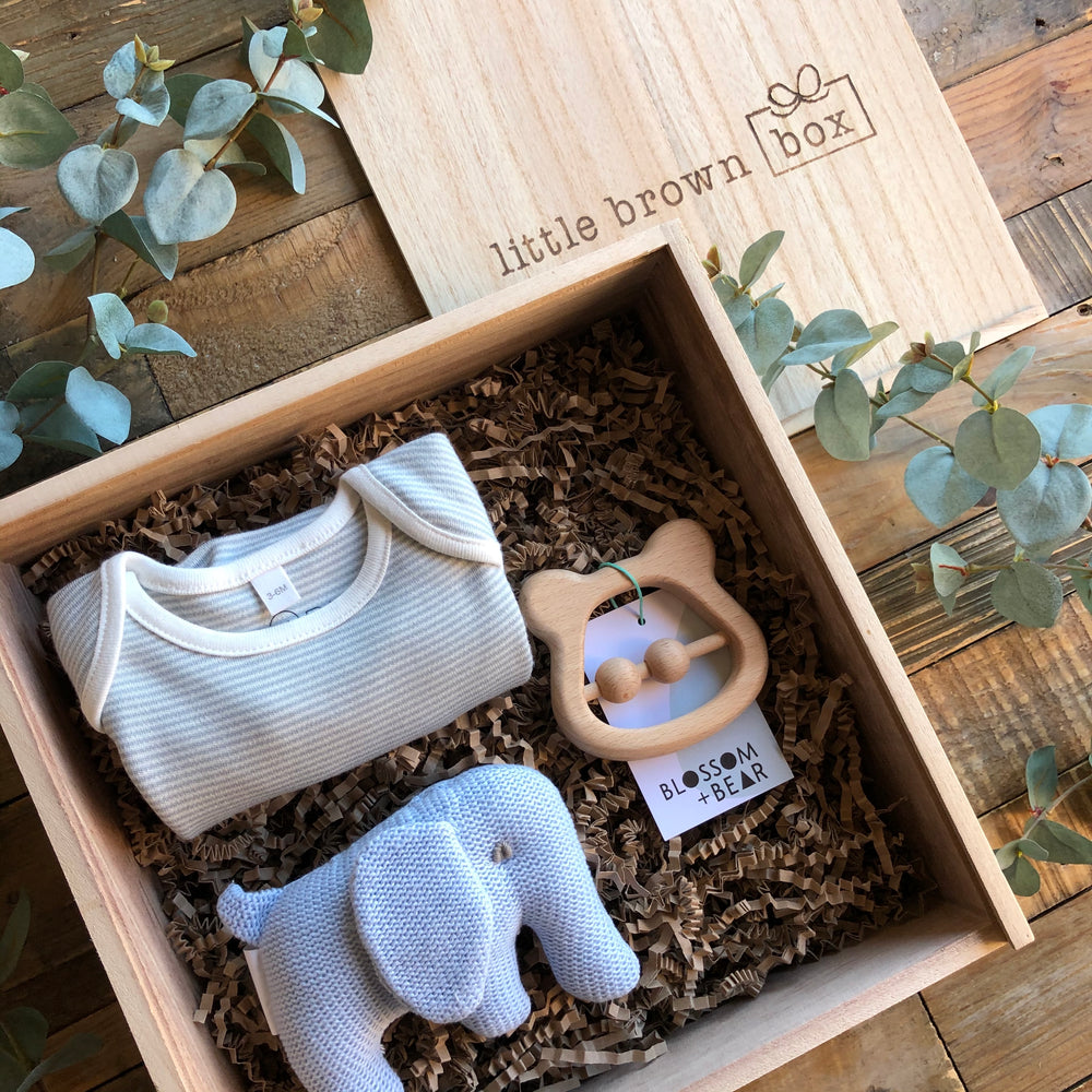 Little Brown Box New Baby Gift Box