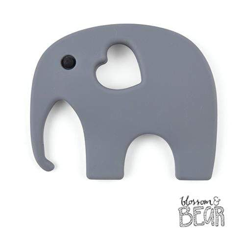 Blossom & Bear Grey Elephant Teether