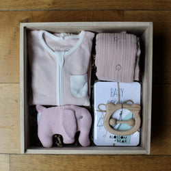The Ultimate Blush New Baby Gift Box