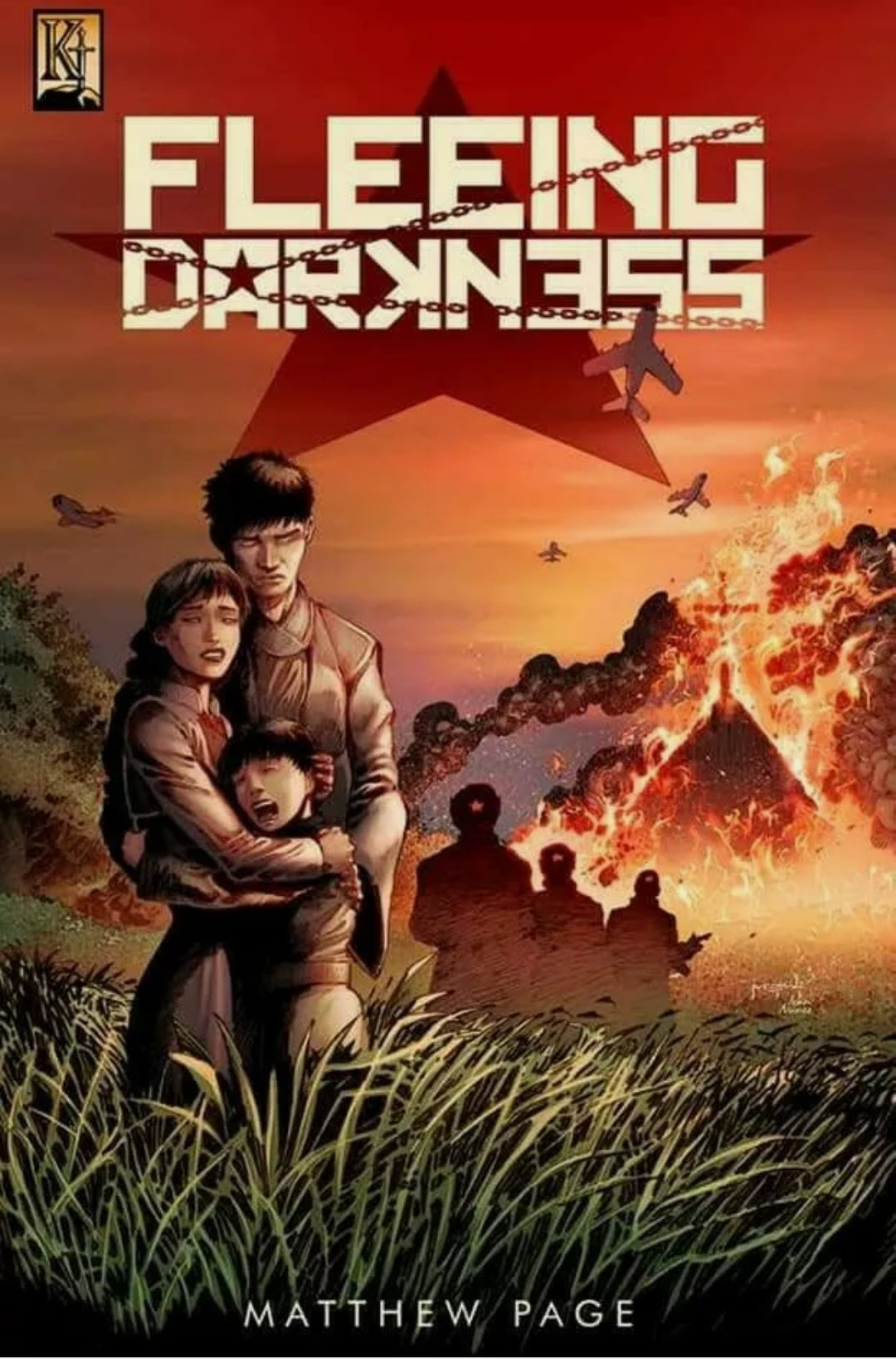 Fleeing Darkness #1 Signed Edition