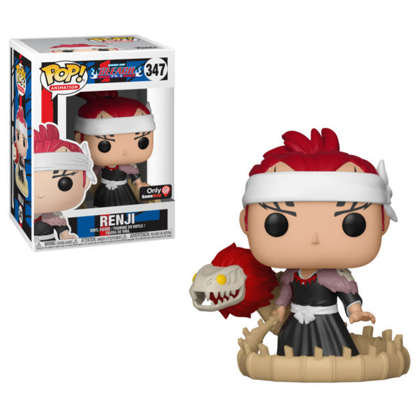 Funko Pop! Animation Bleach Renji #348 Gamestop Exclusive (Pre-Order)