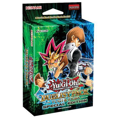 YuGiOh Duelist Pack Yugi & Kaiba SE Special Edition Pack - ExtraDeck