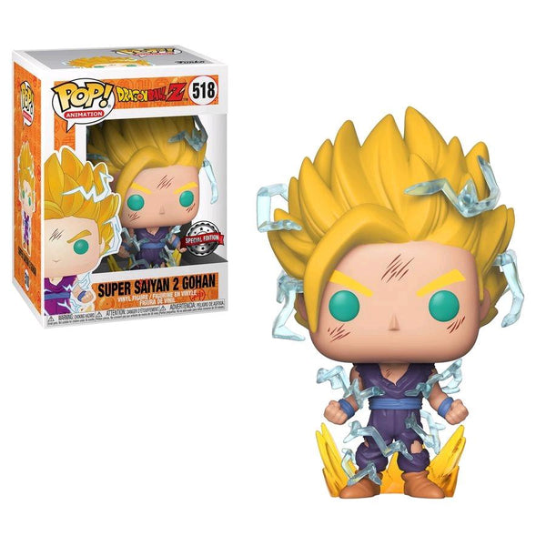 Funko Pop! Animation Dragon Ball Super Saiyan 2 Gohan #518 GameStop Exclusive (Pre-Order December)
