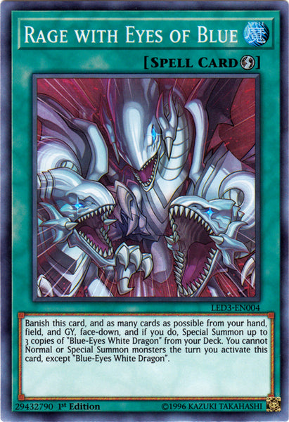 Legendary Duelists: White Dragon Abyss - Rage with Eyes of Blue