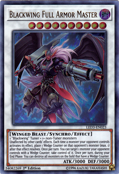 Legendary Duelists: White Dragon Abyss - Blackwing Full Armor Master