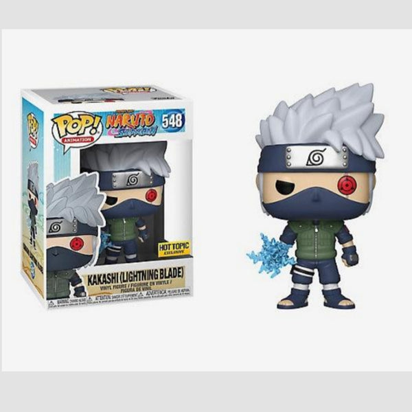Funko Pop! Animation Naruto Kakashi (Lightning Blade) Hot Topic Exclusive #548