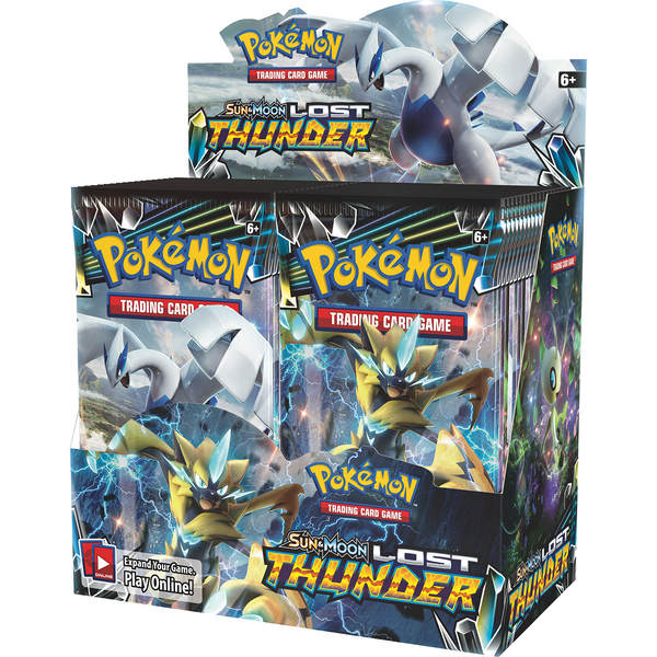 Pokemon: Lost Thunder Booster Display