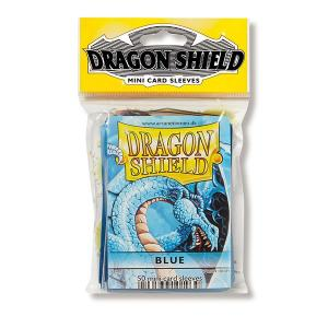 Dragon Shield Sleeves: Japanese - Classic Blue (50 ct.) - ExtraDeck
