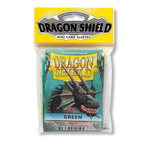 Dragon Shield Sleeves: Japanese - Classic Green (50 ct.) - ExtraDeck