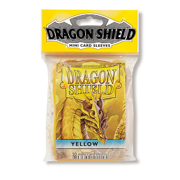 Dragon Shield Sleeves: Standard- Classic Yellow (50 ct.) - ExtraDeck