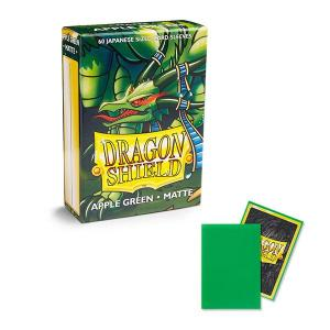 Dragon Shield Sleeves: Japanese - Matte Apple Green (60 ct.) - ExtraDeck