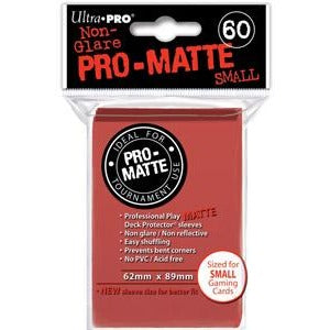 Deck Protectors Mini: Pro-Matte Red (60)
