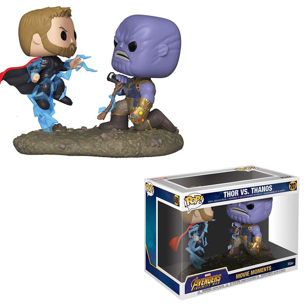 Funko Pop! Movie Moments Marvel Avengers Infinity War Thor Vs. Thanos #707 (Pre-Order Ships February)
