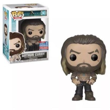 Funko DC Comics Aquaman POP! Heroes - Arthur Curry 2018 NYCC Fall Convention Shared Exclusive