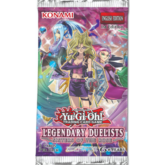 Yu-Gi-Oh! Legendary Duelists: Sisters of the Rose Booster Pack