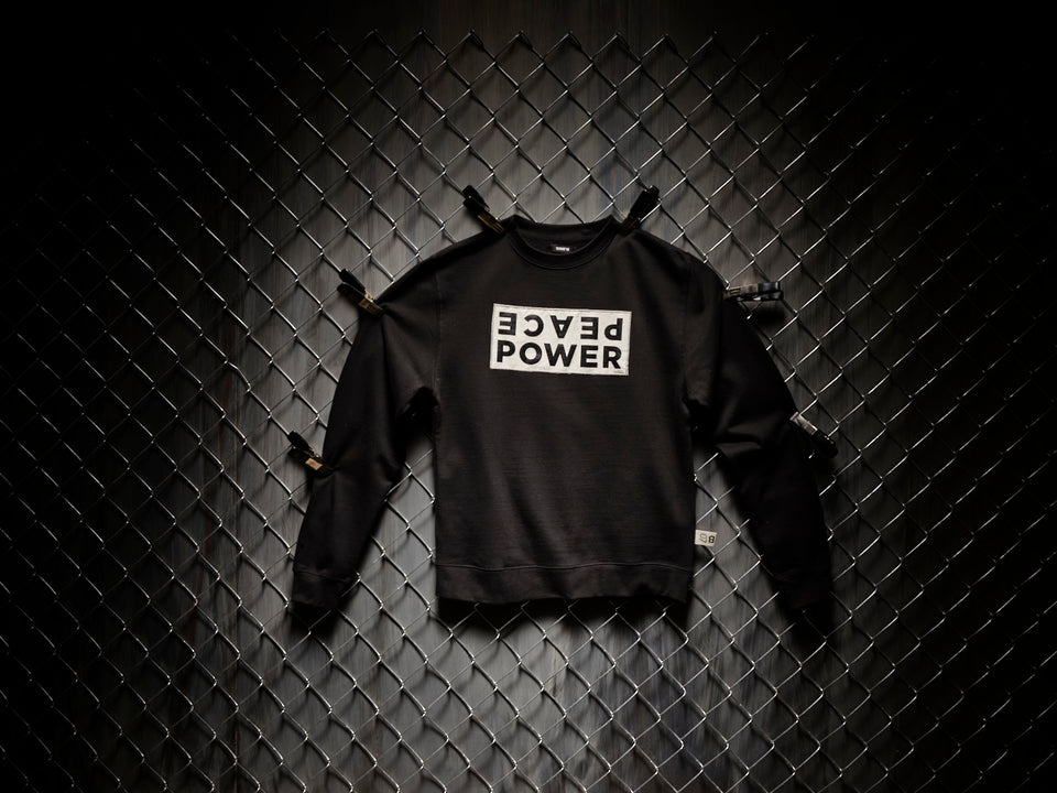 PEACE POWER | CREWNECK
