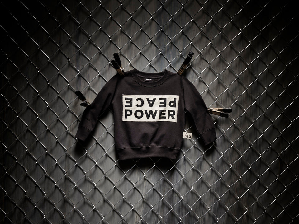 PEACE | POWER | CREW NECK