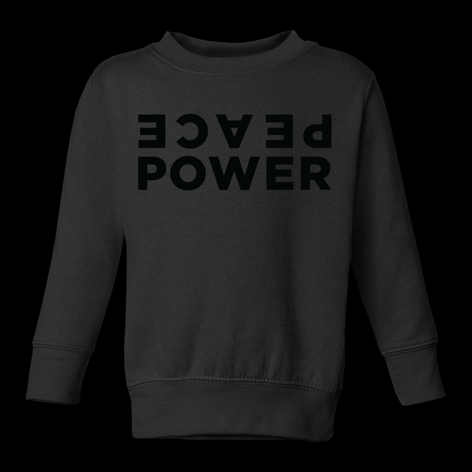 KIDS | PEACE POWER | CREWNECK