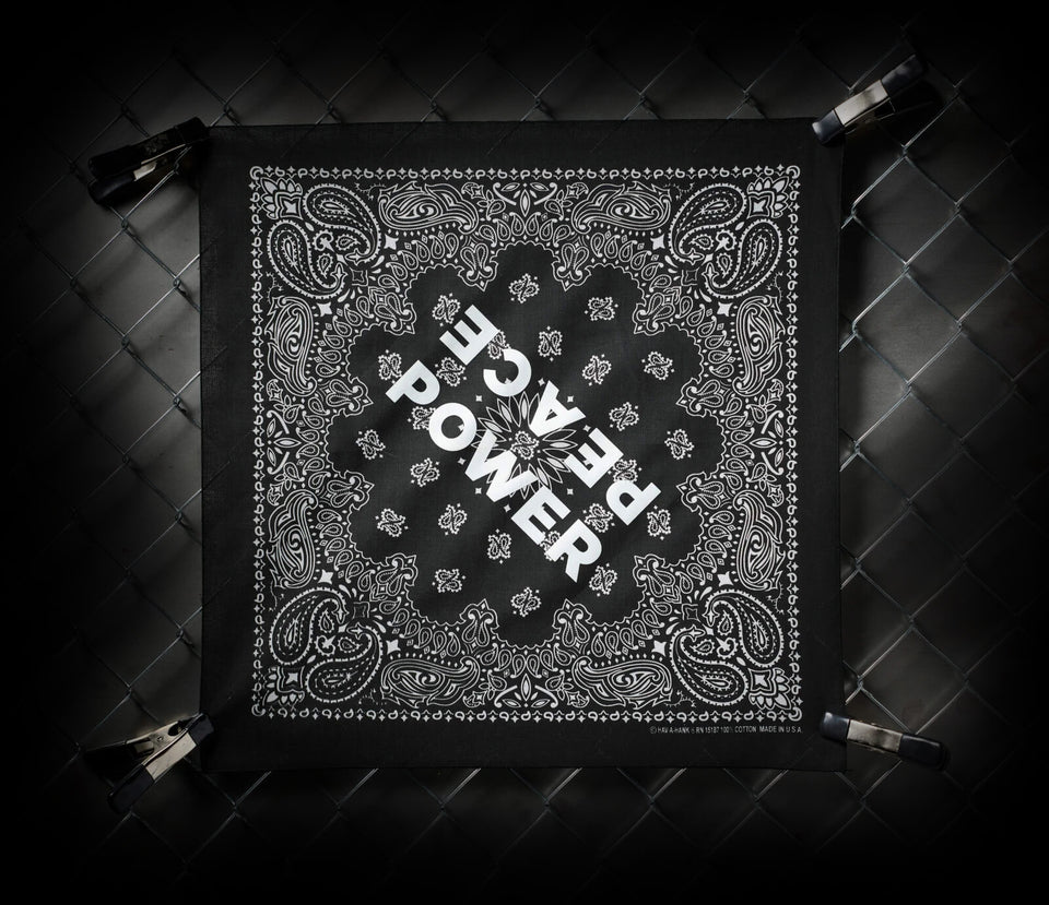 PEACE POWER | BANDANA SCARF