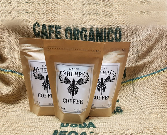 Magpie Hemp Coffee - 3 for $40