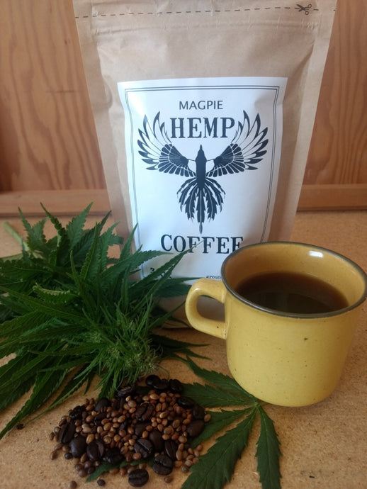 Magpie Hemp Coffee - 300g.