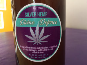 Silver Hemp - Hand and Surface Purifier
