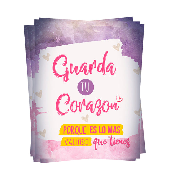 Guarda tu corazón (folleto evangelistico)