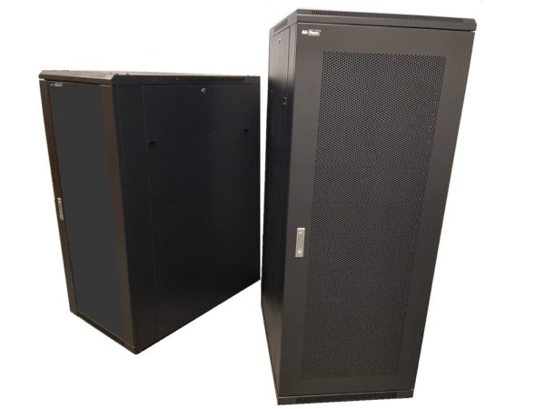 All-Rack 37u 600mm Wide x 600mm Deep Floor Standing Server/Data Cabinet - Black £278.50 - £380.50 ex VAT