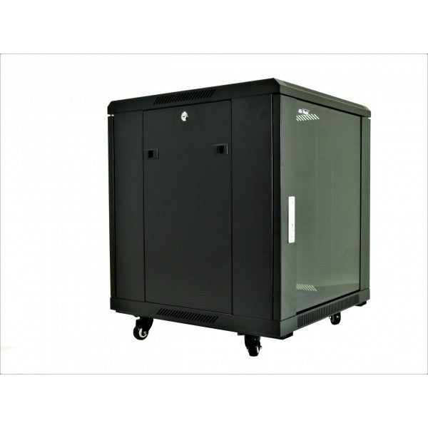 All-Rack 12u 600 Wide x 800 Deep Floor Standing Data Cabinet - Black £214.63 - £286.63 ex VAT