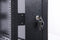 ORION 47U FREE STANDING DATA CABINET 600MM WIDE X 600MM DEEP - BLACK