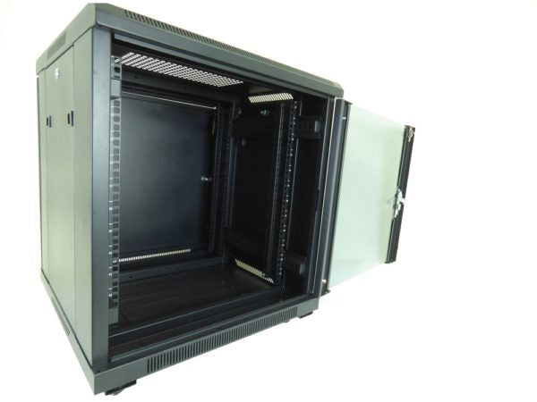 All-Rack 18u 600mm Wide x 600mm Deep Floor Standing Server/Data Cabinet - Black £210.42 - £284.82 ex VAT
