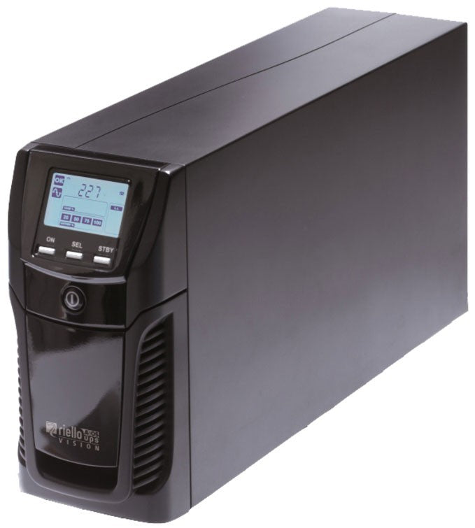 UPS 1500VA Riello Dialog Vision tower battery